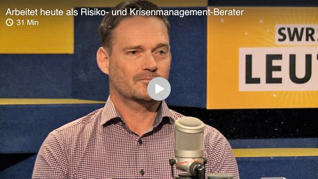 Oliver Schneider im Interview mit Wolfgang Heim. SWR1